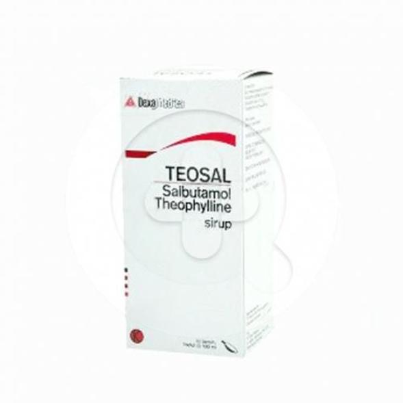 Teosal sirup digunakan untuk melebarkan bronkus (bronkodilator) pada pasien asma.