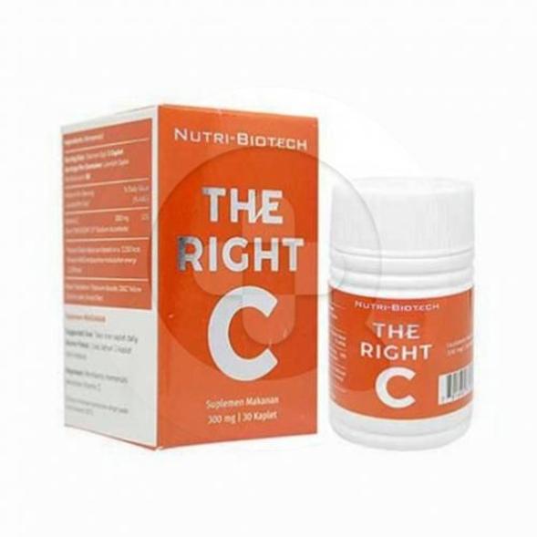 The right C 500 kaplet adalah suplemen yang digunakan untuk meningkatkan daya tahan tubuh.