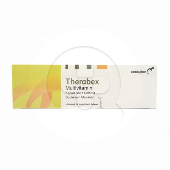 Therabex tablet adalah suplemen untuk mencegah kekurangan vitamin B dan vitamin C dalam tubuh.