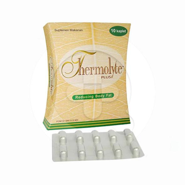 Thermolyte Plus kaplet adalah suplemen untuk mengurangi lemak dalam tubuh