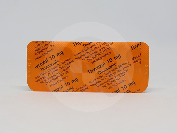 Thyrozol tablet adalah obat untuk hipertiroidisme atau pembesaran kelenjar tiroid