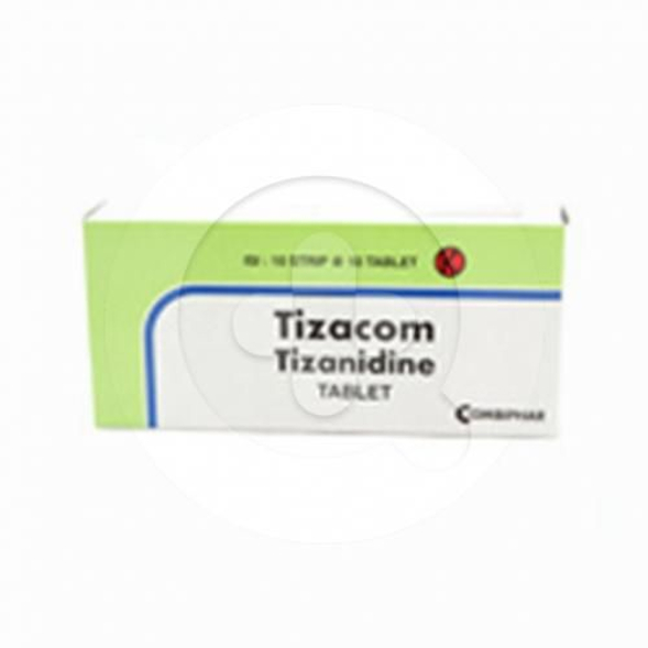 Tizacom tablet adalah obat untuk menatasi kram otot, kejang otot, dan ketegangan pada otot.