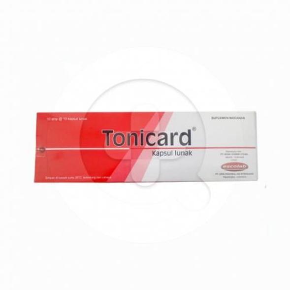 Tonicard kapsul adalah suplemen untuk memelihara kesehatan tubuh.