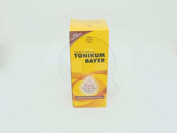 Tonikum Bayer Sirup 100 ml digunakan untuk memenuhi kebutuhan multivitamin dan mineral.