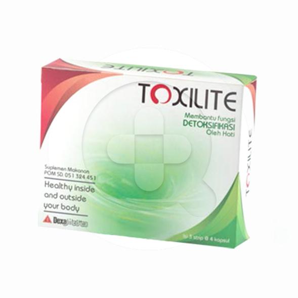 Toxilite kapsul adalah suplemen untuk memelihara kesehatan hati