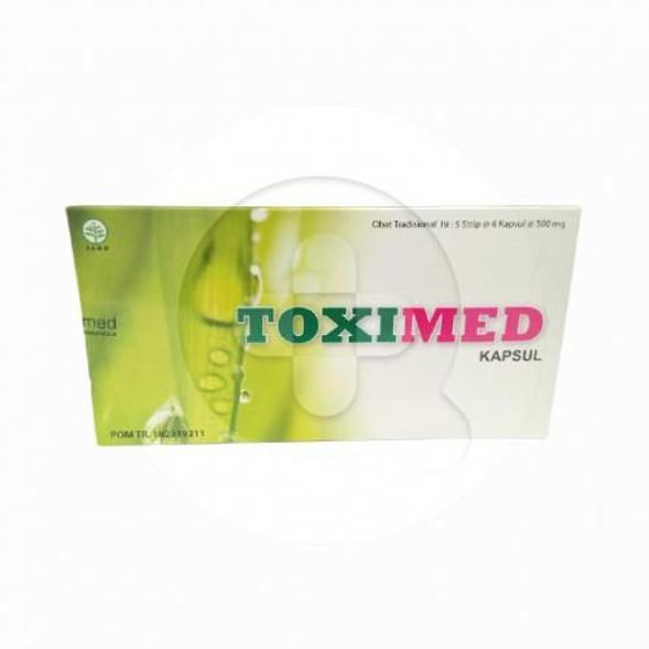 Toximed kapsul dapat memgantu memelihara kesehatan hati.