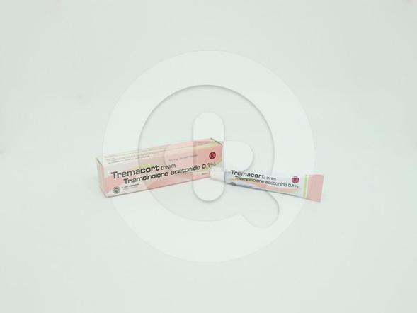 Tremacort 0,1 % krim 5 g adalah obat untuk pengobatan tambahan luka akibat peradangan di mulut dan luka bernanah akibat trauma.