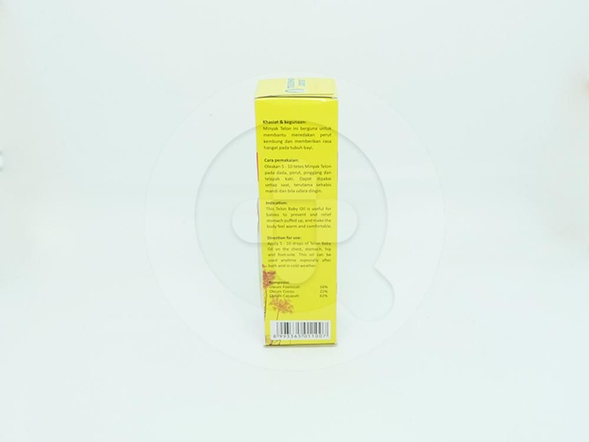 Tresno Joyo minyak telon adalah minyak untuk meredakan perut kembung dan memberikan rasa hangat pada tubuh bayi.