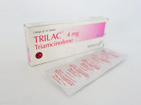 Trilac tablet adalah obat antiinflamasi yang digunakan untuk menangani beberapa kelainan kulit, peradangan pada bagian mata dan sendi, serta pembengkakan.