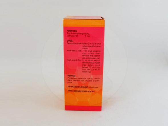 Trisela sirup adalah obat untuk meredakan gejala alergi seperti rhinitis alergi dan urtikaria.