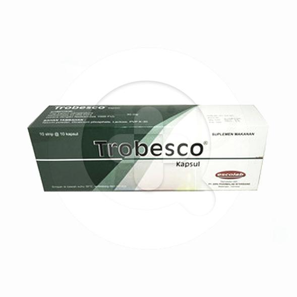 Trobesco kapsul adalah suplemen untuk mencegah terjadinya penggumpalan darah.