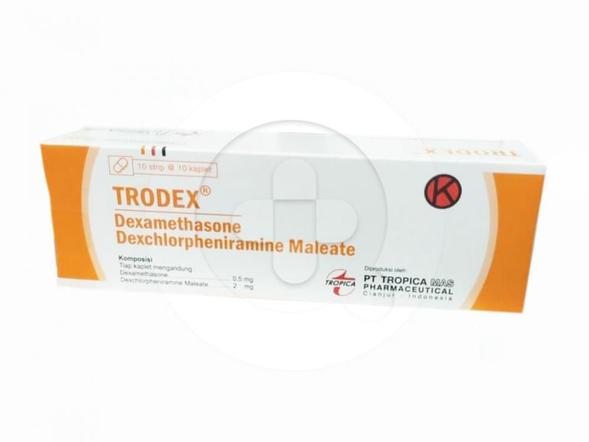Trodex tablet adalah obat untuk mengatasi alergi dan peradangan.
