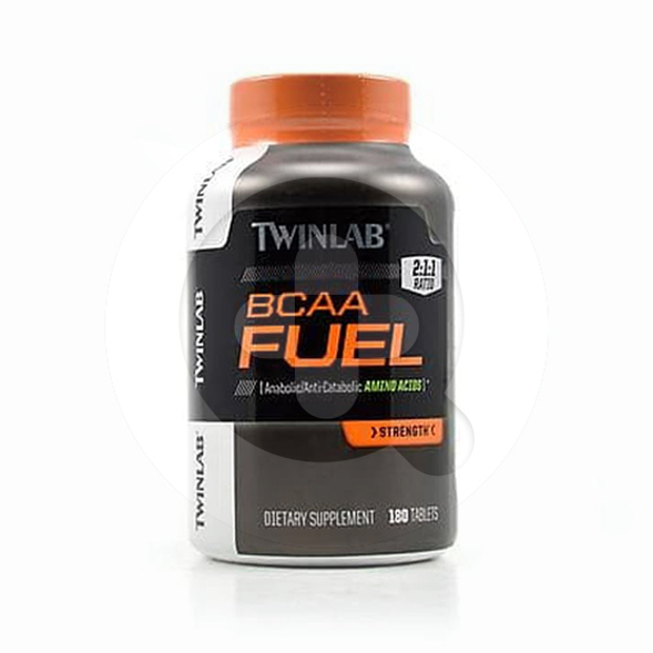 Twinlab BCAA Fuel kapsul adalah suplemen untuk menambah tenaga dan membentuk otot