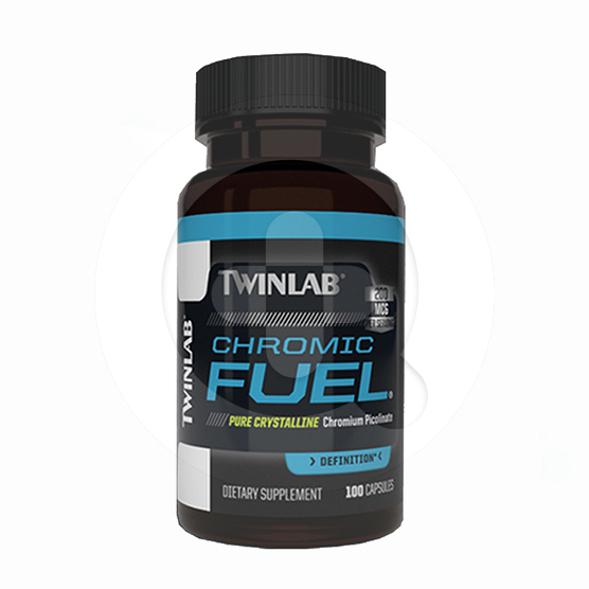 Twinlab Chromic Fuel kapsul adalah suplemen untuk membantu mengatur kadar gula darah