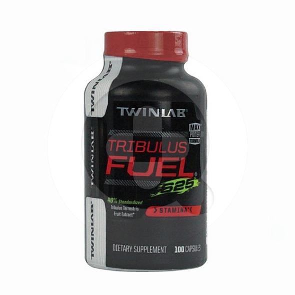Twinlab Tribulus Fuel kapsul adalah suplemen untuk membantu memelihara stamina pria