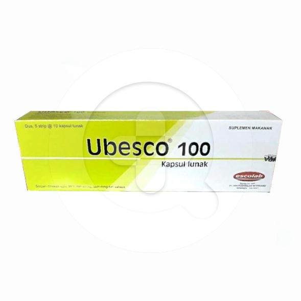 Ubesco 100 kapsul adalah suplemen antioksidan yang memelihara kesehatan tubuh.
