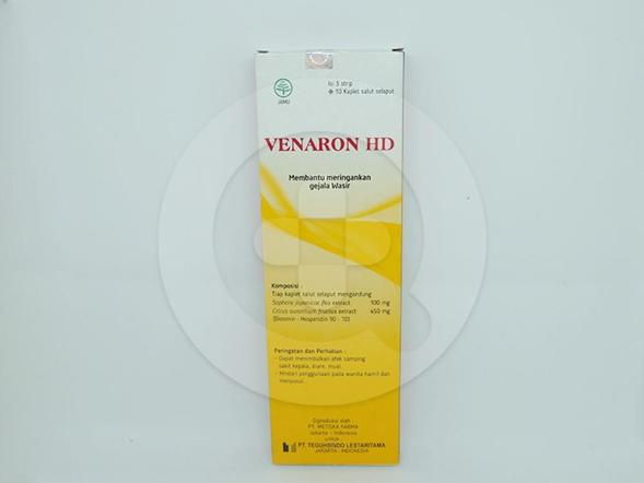 Venaron HD kaplet untuk meringankan gejala wasir.