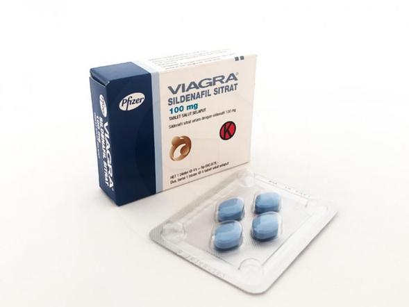 Viagra tablet 100 mg pil biru yang digunakan untuk mencegah masalah disfungsi ereksi.
