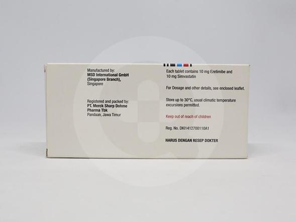 Vytorin tablet digunakan untuk mengurangi kolesterol