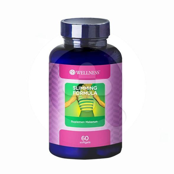 Wellness Slimming Formula kapsul adalah suplemen untuk membantu menurunkan berat badan