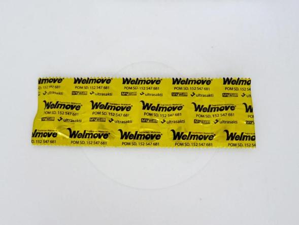 Welmove kaplet adalah suplemen untuk memelihara kesehatan persendian.