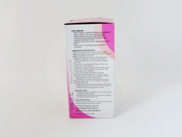 Yusimox Forte sirup kering 60 ml antibiotik penisilin yang digunakan untuk mengobati berbagai macam infeksi bakteri.