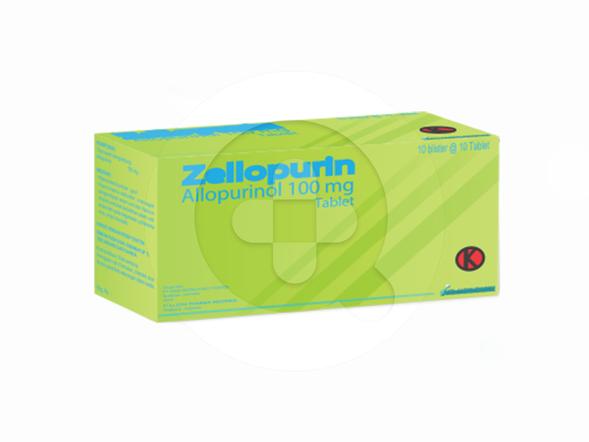 Zellopurin tablet adalah obat untuk menurunkan kadar asam urat yang tinggi dalam darah.