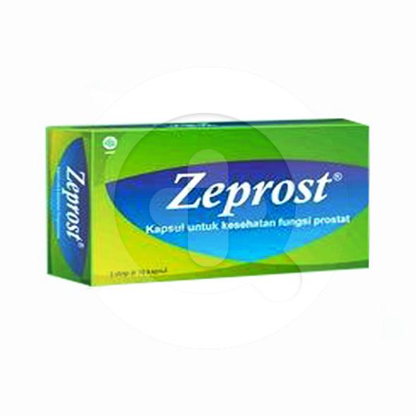 Zeprost kapsul adalah obat untuk memelihara kesehatan prostat