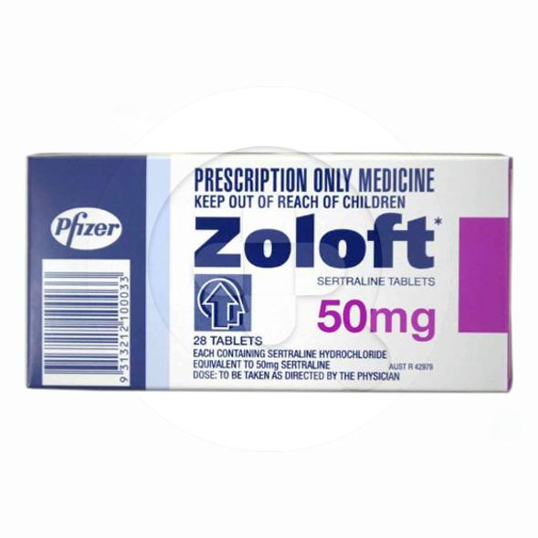 Zoloft tablet adalah obat untuk mengatasi depresi, panik, dan gangguan kecemasan.
