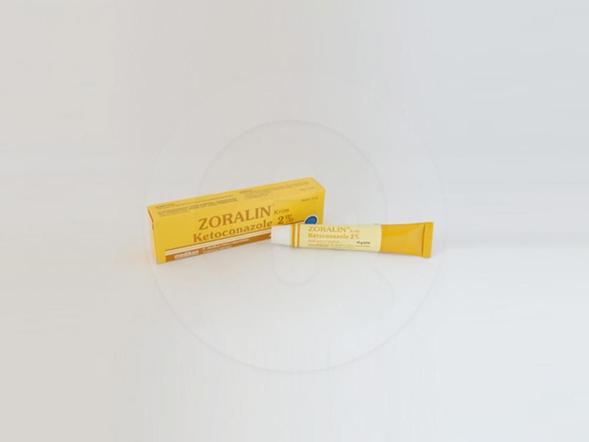 Zoralin krim 10 g merupakan obat untuk mengatasi infeksi jamur superfisial (dermatofitosis) seperti tinea kapitis, tinea korporis, tinea krunis, tinea barbae, tinea interdigital,  pityriasis versicolor, kandidosis kulit.