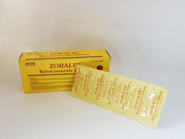 Zoralin tablet berfungsi adalah obat untuk mengobati infeksi jamur pada kulit dan selaput mukosa