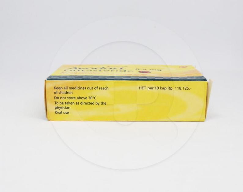 Avodart Kapsul 0 5 Mg Manfaat Dan Indikasi Obat Dosis Efek Samping