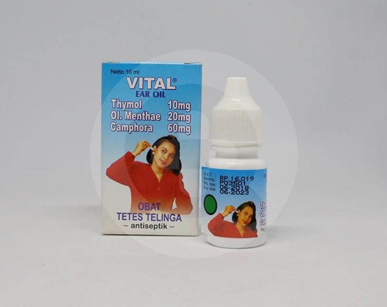 Vital Ear Oil tetes telinga 10 ml | Informasi Obat, Dosis ...