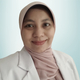 dr. Dina Indah Mulyani, Sp.A merupakan dokter spesialis anak di RSIA Bunda Aliyah Pondok Bambu di Jakarta Timur