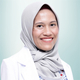 drg. Nadhia Anindhita Harsas, Sp.Perio merupakan dokter gigi spesialis periodonsia di Klinik Gigi Audy Dental Pondok Bambu di Jakarta Timur