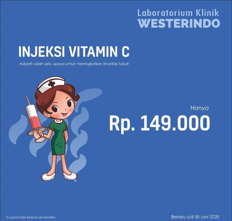Injeksi Vitamin C - Laboratorium Klinik Westerindo