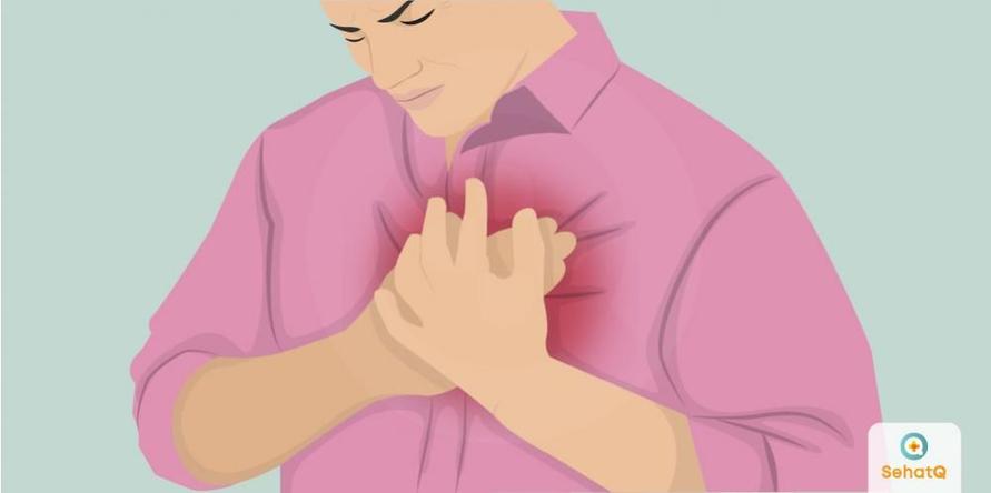 Risiko terkena nyeri dada akan meningkat karena faktor-faktor seperti merokok, diabetes, hipertensi, kolesterol, obesitas, dan lansia.