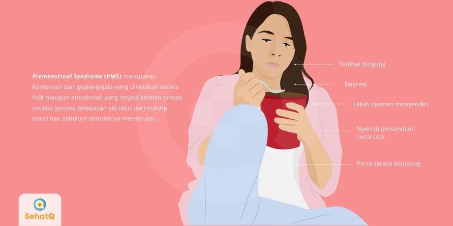 Gejala PMS yang dialami wanita terkadang bisa sangat ringan hingga berat
