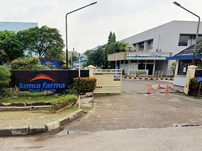 Klinik Kimia Farma Plant Pulogadung di Jakarta Timur