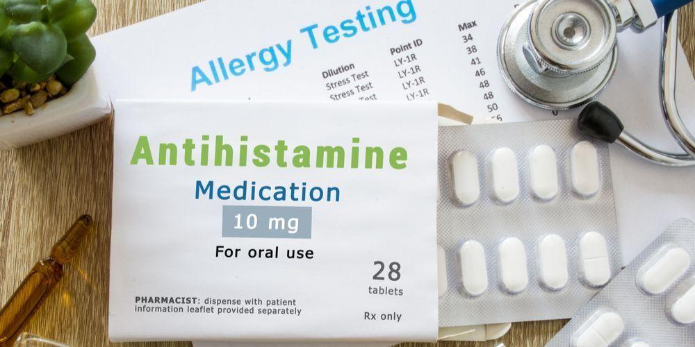Obat alergi makanan adalah antihistamin