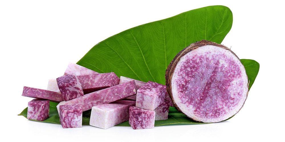 Talas ungu memiliki beragam manfaat menyehatkan