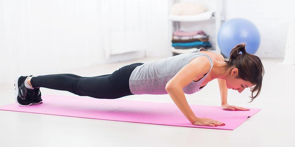 Untuk Anda yang sedang ingin membesarkan massa otot, push up adalah pilihan tepat.