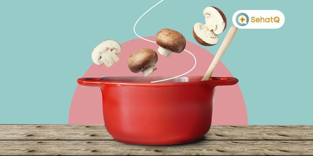 Kaldu jamur dapat menjadi penyedap masakan yang lebih sehat sebagai pengganti MSG
