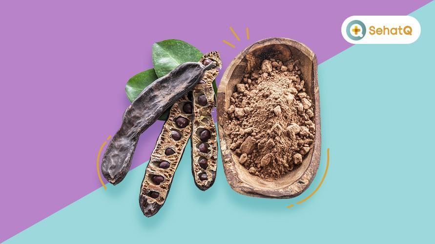 Bubuk carob bisa menjadi pengganti cokelat