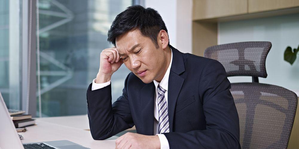 Gejala stres meliputi mudah gelisah, frustrasi, murung, dan sebagainya