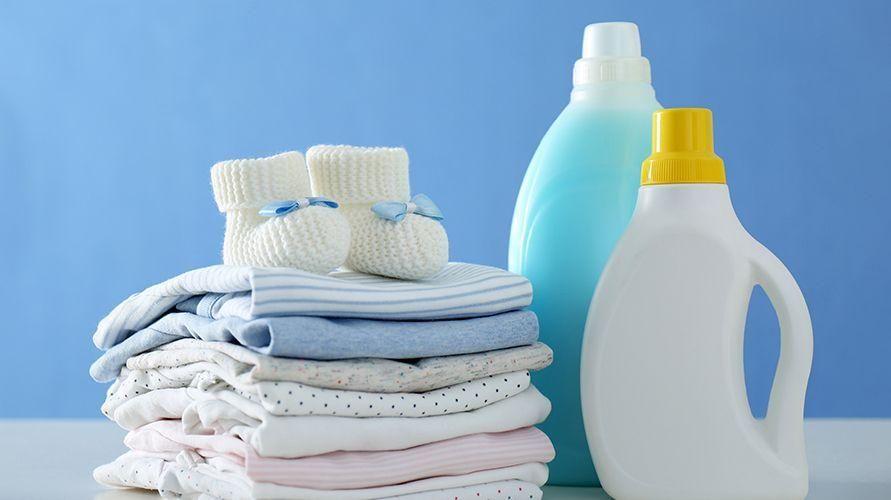 Gunakan sabun dan deterjen khusus bayi
