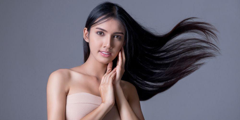 Smoothing rambut memberikan efek rambut lurus
