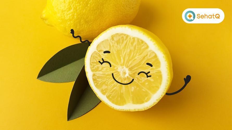 Kandungan lemon yang utama yaitu vitamin C, serat, dan beragam jenis senyawa khas tumbuhan