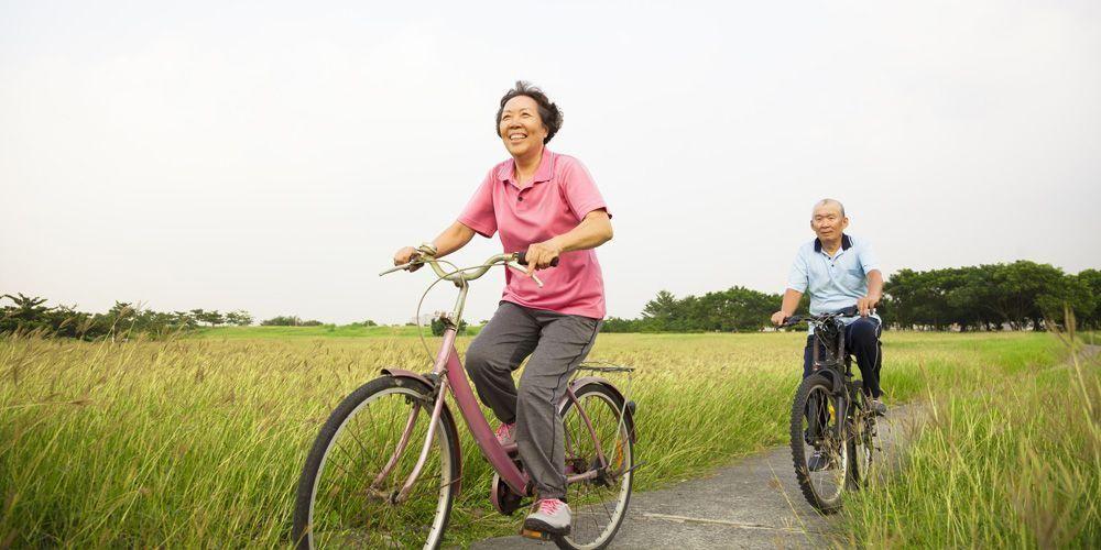 Untuk menekan potensi demensia di usia lanjut, Anda disarankan bersepeda secara konsisten