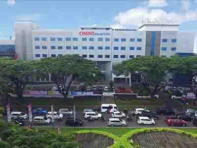 Omni Hospital Alam Sutera di Tangerang Selatan